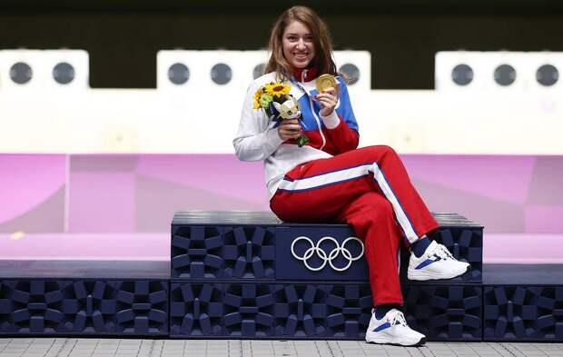 Королева пистолетов. Виталина Бацарашкина завоевала второй олимпийский титул!