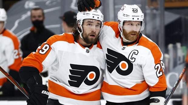«Филадельфия» в овертайме обыграла «Бостон», у Проворова две передачи