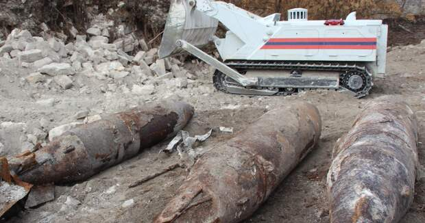 Самые тяжелые за последние 20 лет авиабомбы нашли и взорвали в Керчи