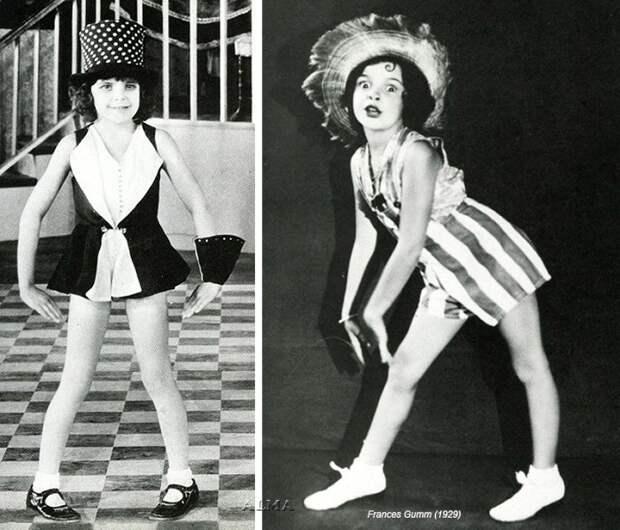 Джуди Гарленд в детстве.   Фото: www.liveinternet.ru