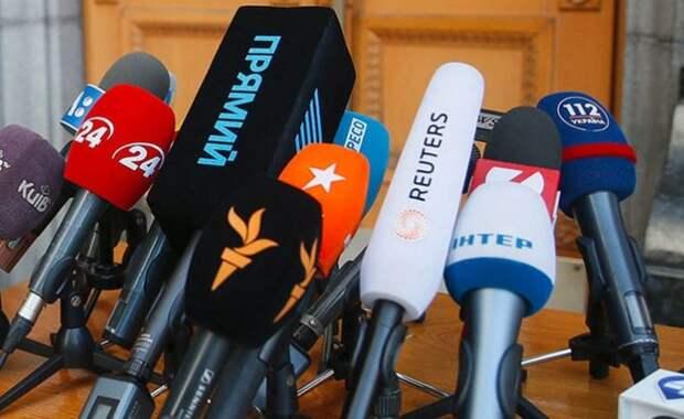 Украинские журналисты унизили российскую журналистку на мероприятии в Дании