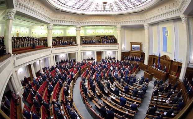 Депутаты Верховной рады Украины потребовали разорвать дипотношения с Россией