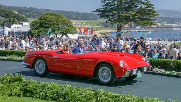 Итальянский гран-туризмо 1957 года Ferrari 250 GT Pinin Farina Cabriolet Series I. | Фото: robbreport.com.