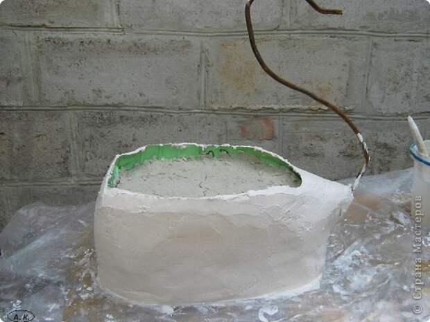 Мастер-класс, Скульптура Лепка:  Лебедь-кашпо ( обещанный МК) ч. І. Фото 8