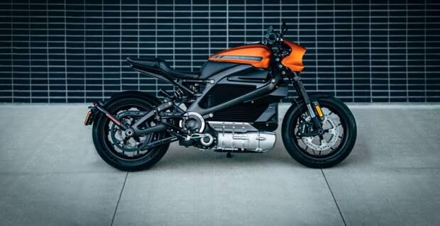 Дорогое удовольствие: объявлена стоимость электрического Harley-Davidson LiveWire