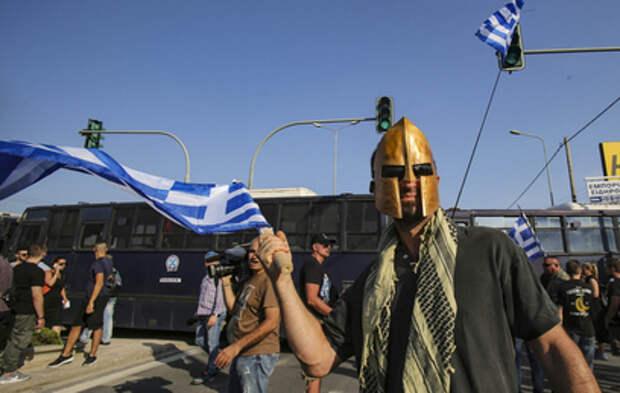 В Греции студенты протестуют из-за полицейских патрулей в университетах