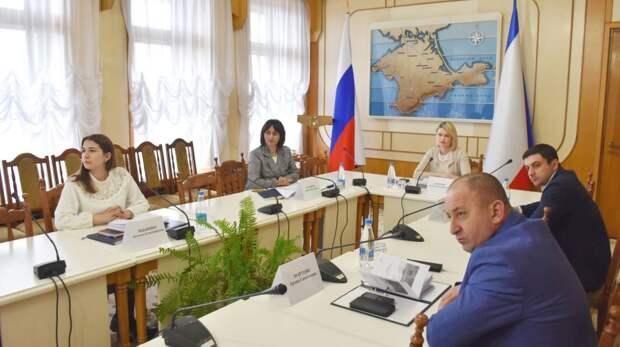 Лариса Кулинич выступила на заседании профильного комитета Госсовета Крыма