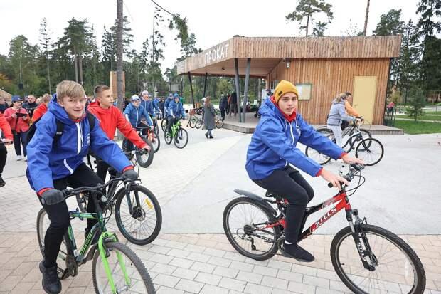 Велопробег в поддержку акции «Откажись от автомобиля» провели в Балашихе