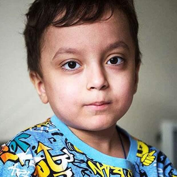 Давид Бубнов, 6 лет, редкое врожденное заболевание – первичный иммунодефицит, спасет лекарство, 175511₽