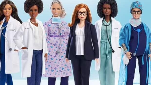 Mattel посвятила куклы Барби ученым за борьбу с коронавирусом