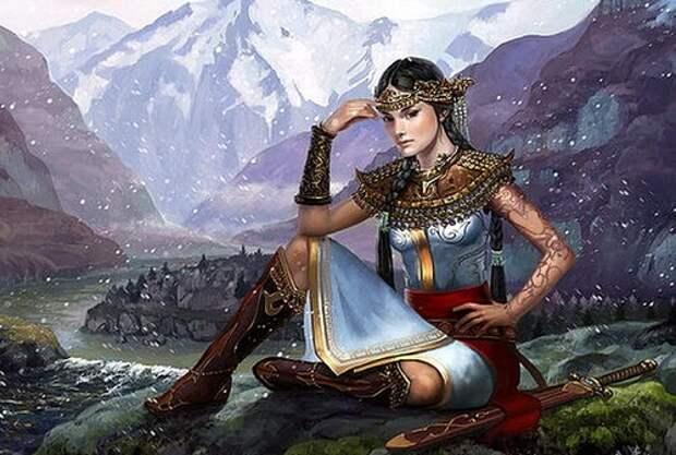 Алтайская принцесса и ее тайна