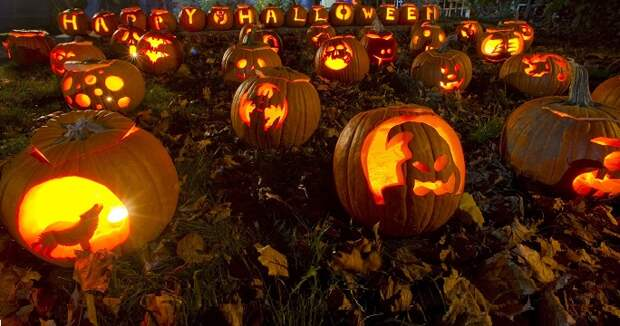 Страшный праздник Halloween