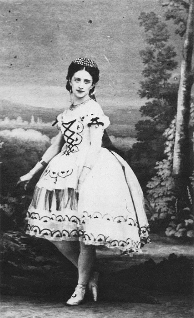 знаменитая русская балерина Марфа Николаевна Муравьёва. фото