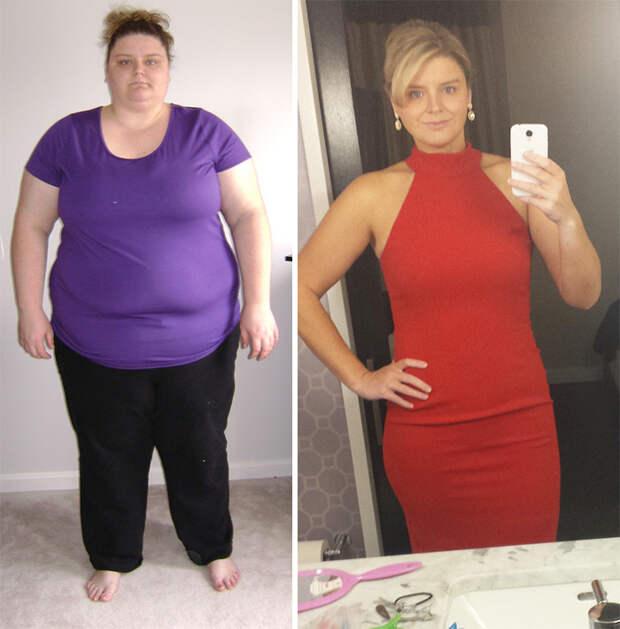 23. Из 201 кг в 86 кг похудение, результат