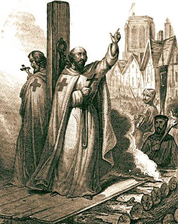 Рыцарей-тамплиеров связывают со Священным Граалем.