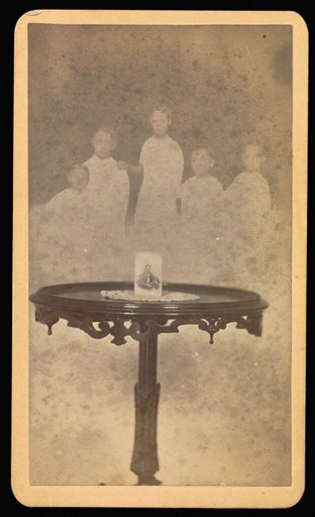 Мамлер-мистификатор: фотографии духов XIX века
