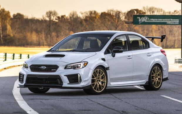 Subaru представила спортседан WRX STI S209