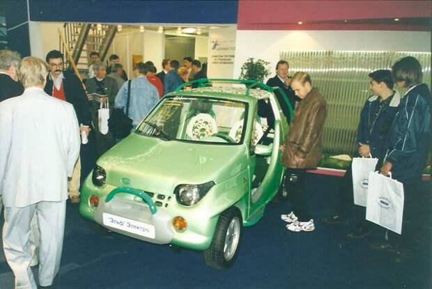 ВАЗ-1152 «Эльф». автовыставка, автосалон, выставка, ретро фото