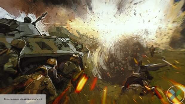 При взрыве на Донбассе пострадали пятеро украинских силовиков