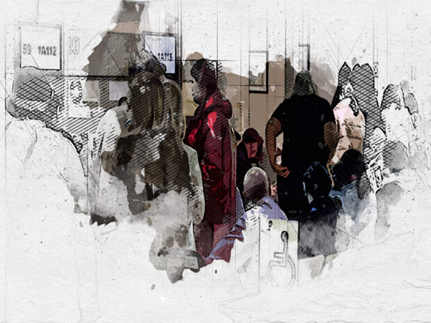 «Там все в аду»: МФЦ на Ленина в Орле переполнен желающими привиться и получить услуги