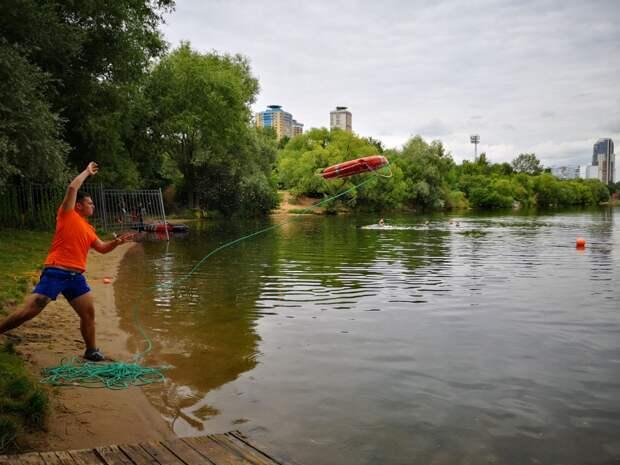 На поисково-спасательной станции «Строгино» пройдёт второй этап смотр-конкурса