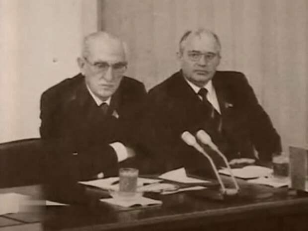 Андропов и Горбачев – кровавый путь к власти