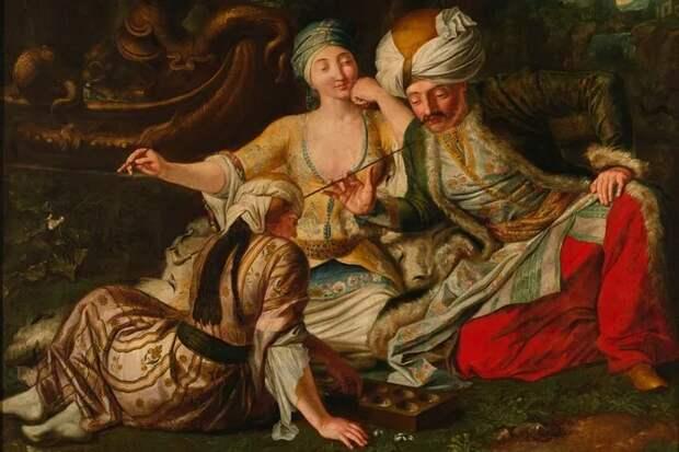 Как попадали наложе ксултанам ипочему султаны смотрели женщине только вглаза