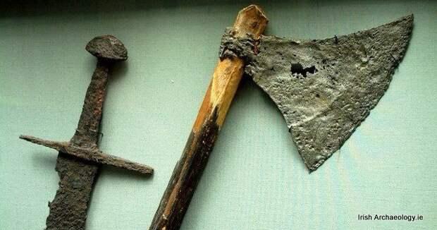 Оружие викингов в Ирландии.