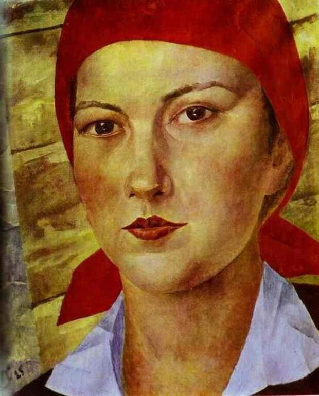 Комиссарши в советских плакатах и живописи