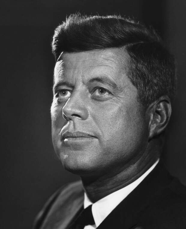 John F. Kennedy by Yousuf Karsh