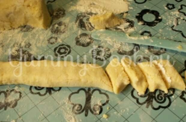 Картофельные палюшки с творогом