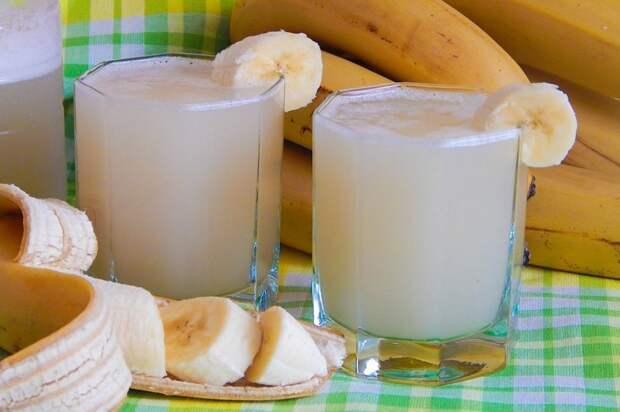 Банановый квас Домашний квас, готовка, жажда, квас, легкие рецепты, напиток, рецепты