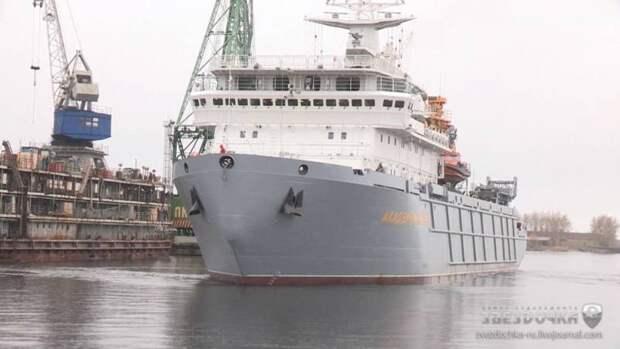 Новые танкеры и транспорты вооружений для ВМФ России