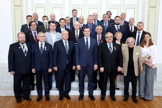 Глеб Никитин вручил нижегородцам государственные награды