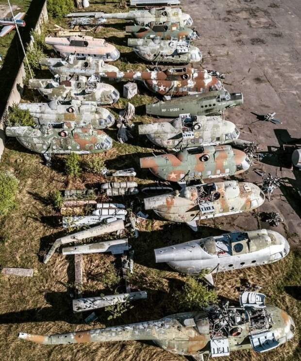 Кладбище советских военной техники