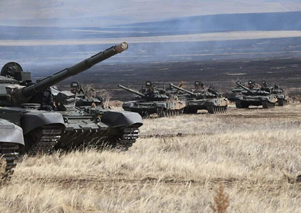 Около 500 танкистов ВВО подтвердили свой профессионализм на полигоне в Бурятии