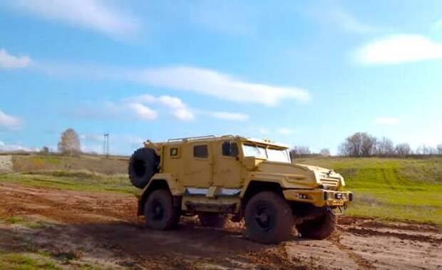 Российские военные испытали в Сирии новую бронемашину «ВПК-Урал»