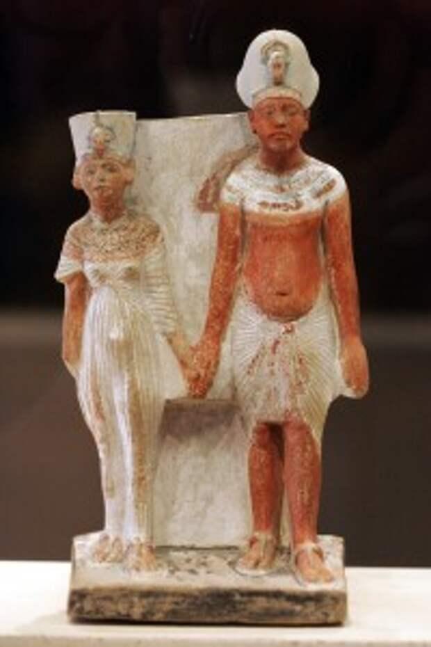 Загадочная красавица Нефертити