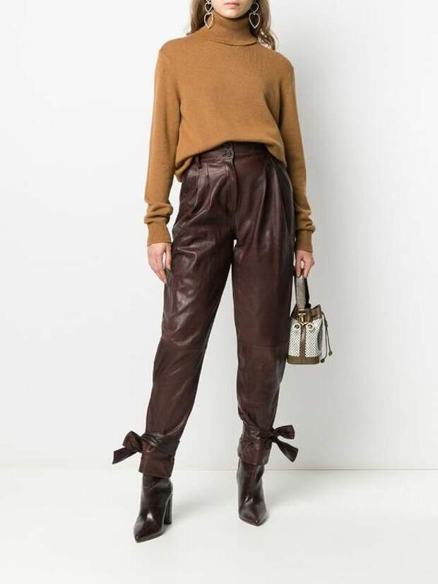 Супер модные образы с брюками для зимы 2021 года