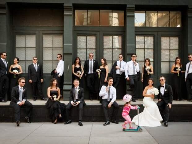Смешные случайные свадебные фотобомбы (19 фото)