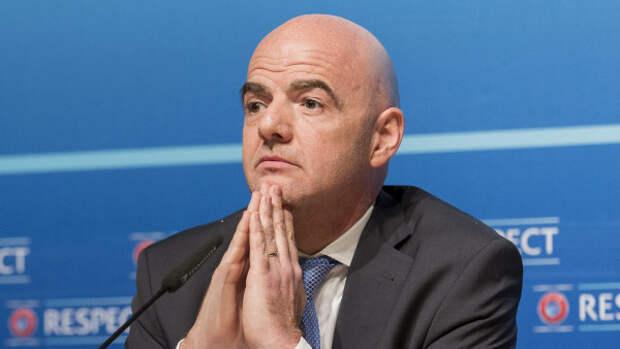 В Швейцарии возбудили уголовное дело против президента ФИФА Джанни Инфантино