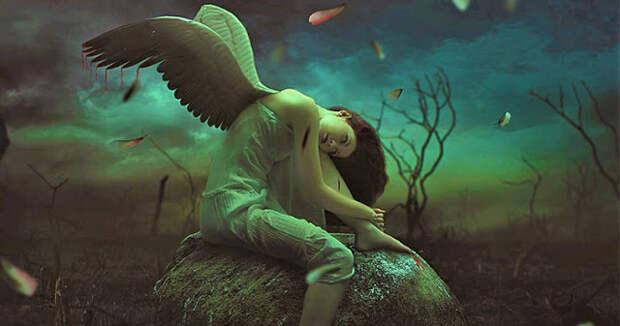 Чувствительные люди: ангелы со сломанными крыльями, которым для того, чтобы вновь взлететь, нужна любовь