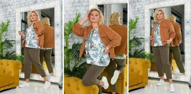 Базовый капсульный гардероб Plus Size на весну