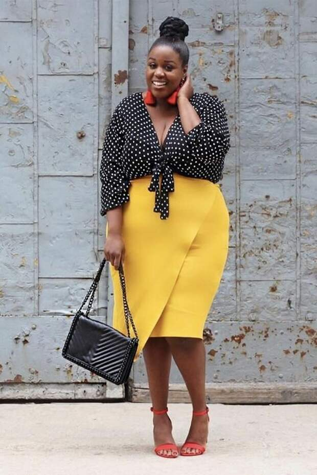 10 модных советов для женщин plus size. Как быть прекрасной в любом весе?