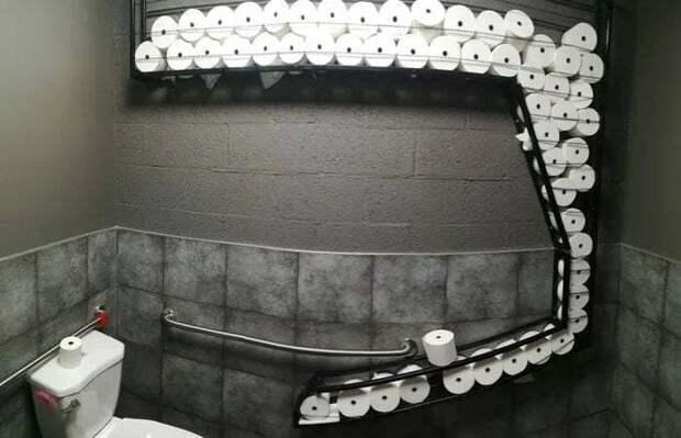 Спортлото в туалете