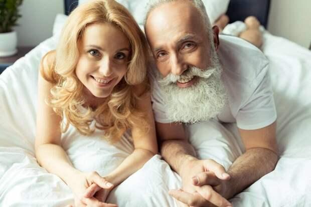 Дряхлые объятия: по каким причинам девушки выбирают мужчин значительно старше по возрасту?