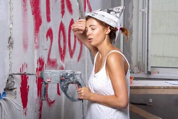 Почему ремонт больше нужен женщинам, чем мужчинам?