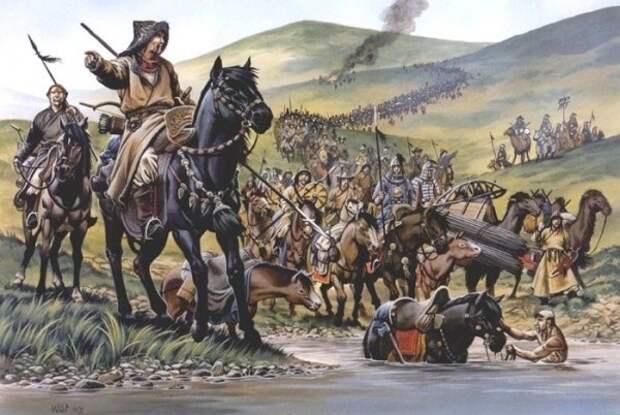 Как называли современники татаро-монгол