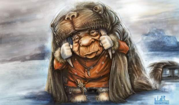 Блог Павла Аксенова. Анекдоты от Пафнутия. Рисунок Дмитрия Рогова