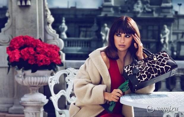 Пенелопа Круз в рекламной кампании Loewe, осень-зима 2013/2014